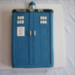 Birthday Cake Dr Who