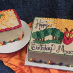 Caterpillar smash cake, caterpillar, brightly colored cake