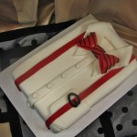 UGA, Game Day,Shirt, Bow tie, Suspenders, Groom's cake