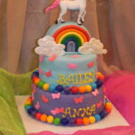 Unicorn,my little pony,rainbow cake