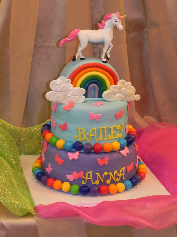 rainbow unicorn cake rainbows and unicorns deborah s specialty cakes 6952