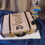 Suitcase, Luggage, Groom's cake, Travel cake